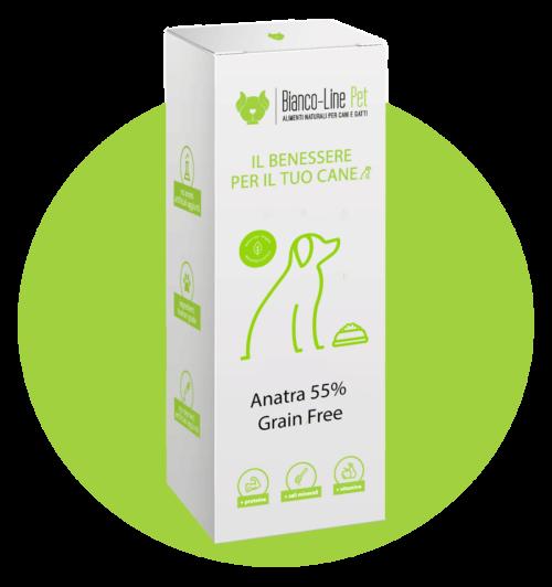 cane-alimento-pressato-anatra-grain-free