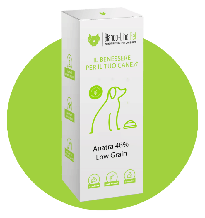 cane-alimento-pressato-anatra-low-grain